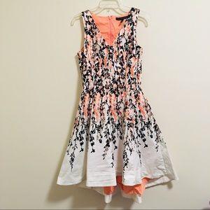 White House Black Market Floral Pocket Dress 8